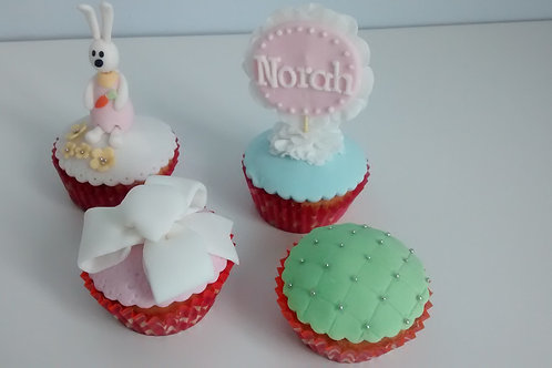4 lekkere cup cakes