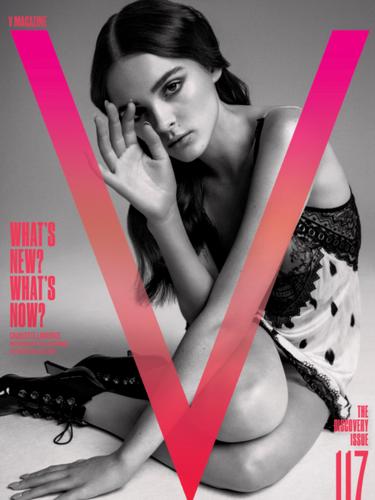 Charlotte Lawrence, V Magazine