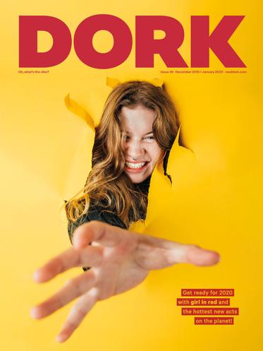 girl in red, Dork Magazine