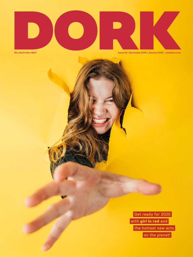 girl in red, Dork Magazine