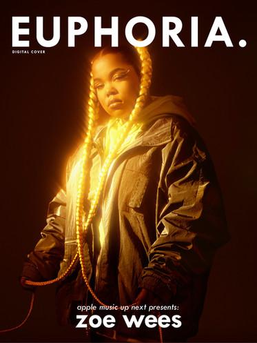 Zoe Wees on Euphoria Magazine