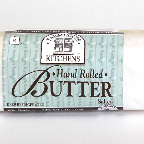 Hand Rolled Butter, Lightly Salted