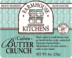 Cashew Butter Crunch