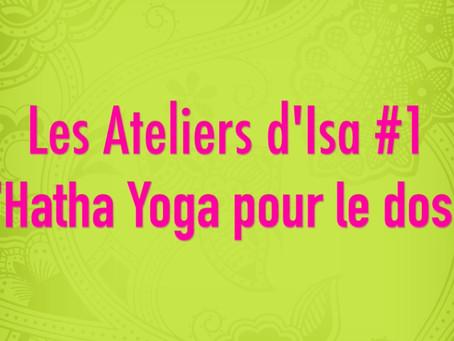 Les ateliers d'Isa #1 : Séance courte Hatha Yoga pour le dos