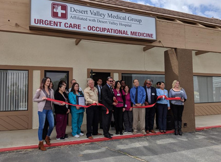 Ribbon Cutting: Desert Valley Medical Center