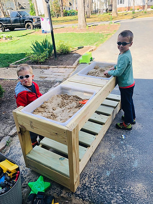 Sand, Water, Sensory Table - Made To Order - Local Pickup