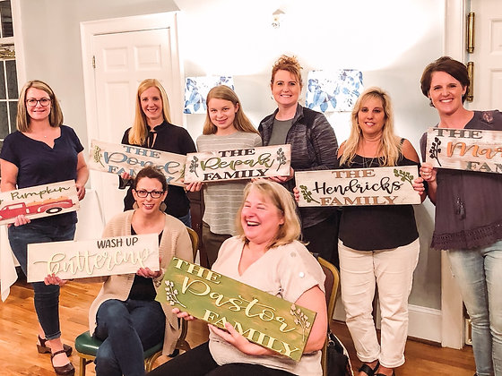 Pallet Sign Workshop - Boulevard Flower Gardens - 10/25 - 1pm.