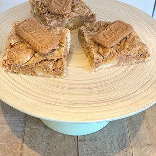 Lotus Biscoff Spread and White Chocolate
