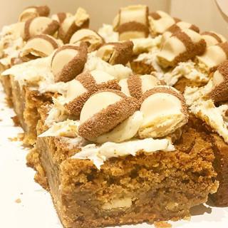 Today's Bake • White Chocolate & Biscoff