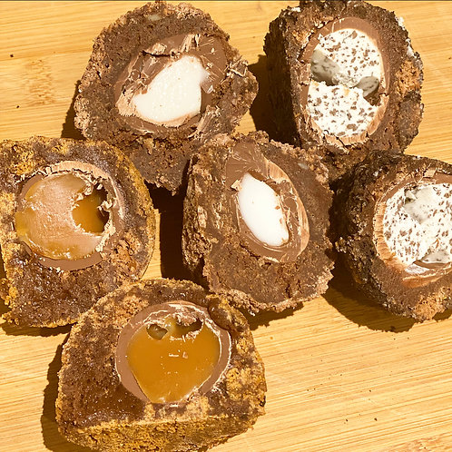 Brownie Scotch Eggs