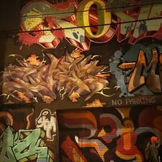 Streetart at Night
