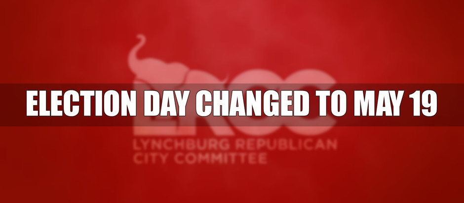 ELECTION DAY CHANGED TO MAY 19