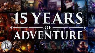 15 Years of Adventure