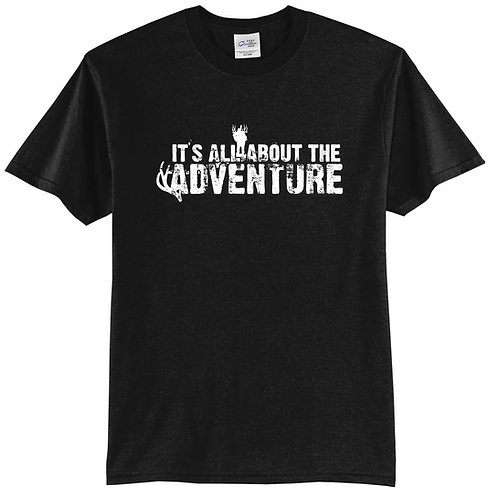 All About the Adventure - Hunting T-shirt