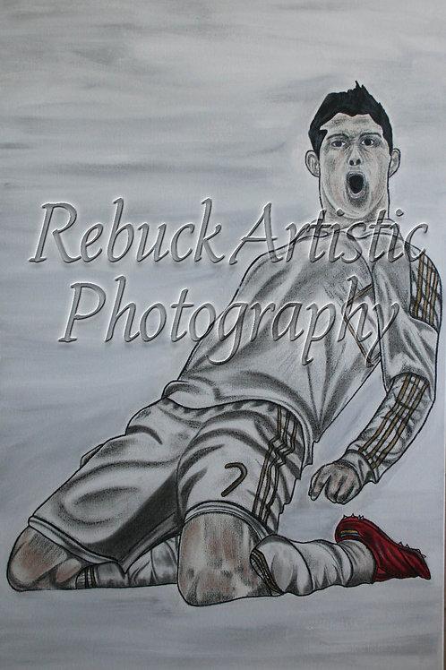 Portuguese player - Cristiano Ronaldo 24 x 48 pnt