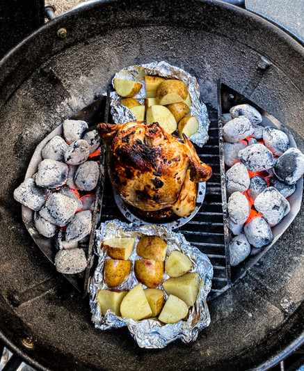 Chipotle Lime Beer Can Chicken