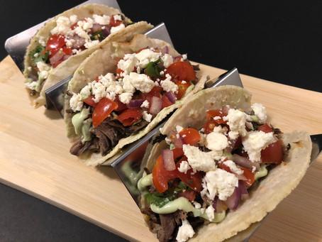 Barbacoa Beef Tacos (Martes de Tacos!)