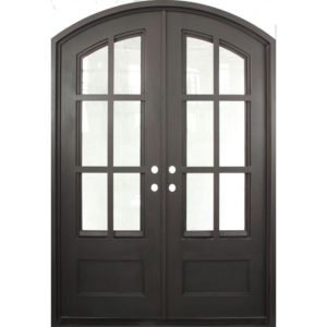 Wrought Iron Double Doors