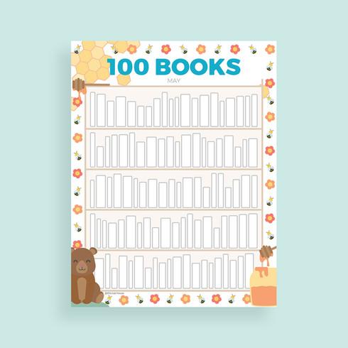 100 Books tracker