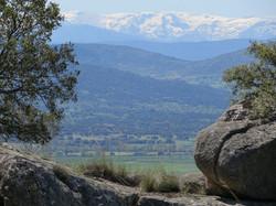 Vista de las cumbres de Gredos