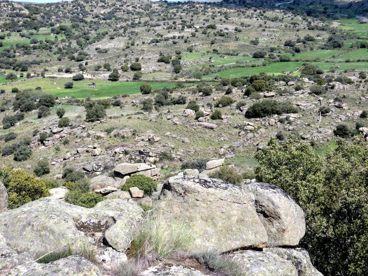 Vista del Arroyo de la Sierpe