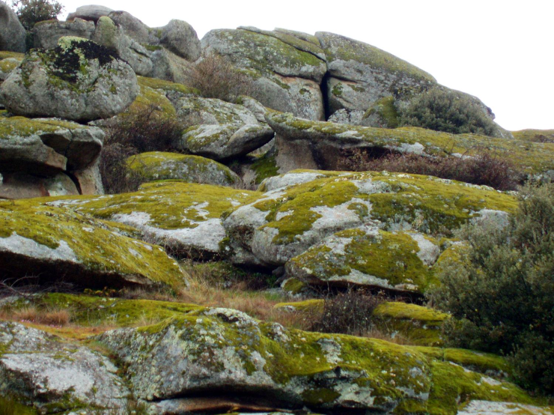 Espectacular paisaje granítico.