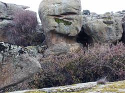 Erosión diferencial en granitos
