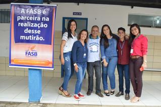 MUTIRÃO SOCIAL COM A PARTICIPAÇÃO DO NPJ - FASB