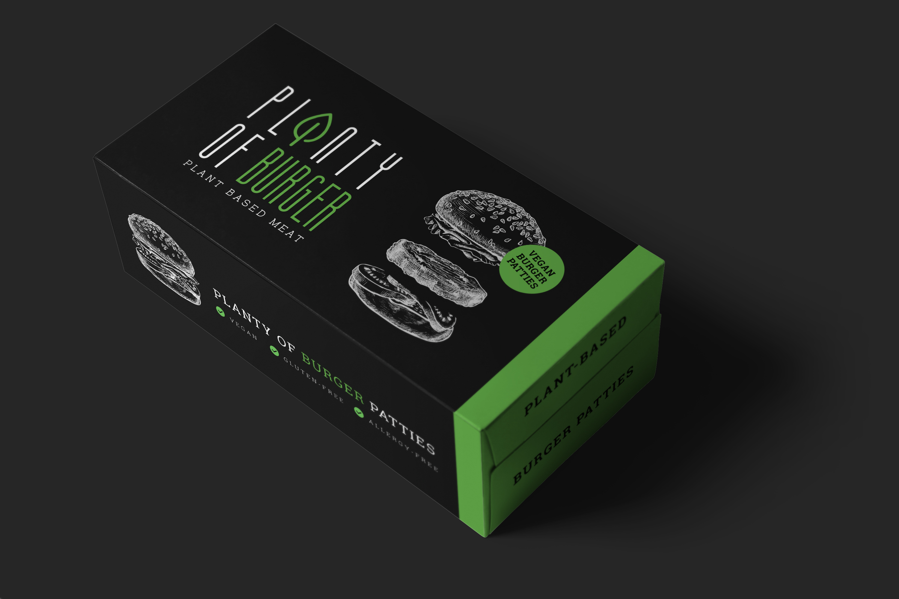 Business Development / Co-Gründer: PLANTY-OF-MEAT - plant-based burger FS box
