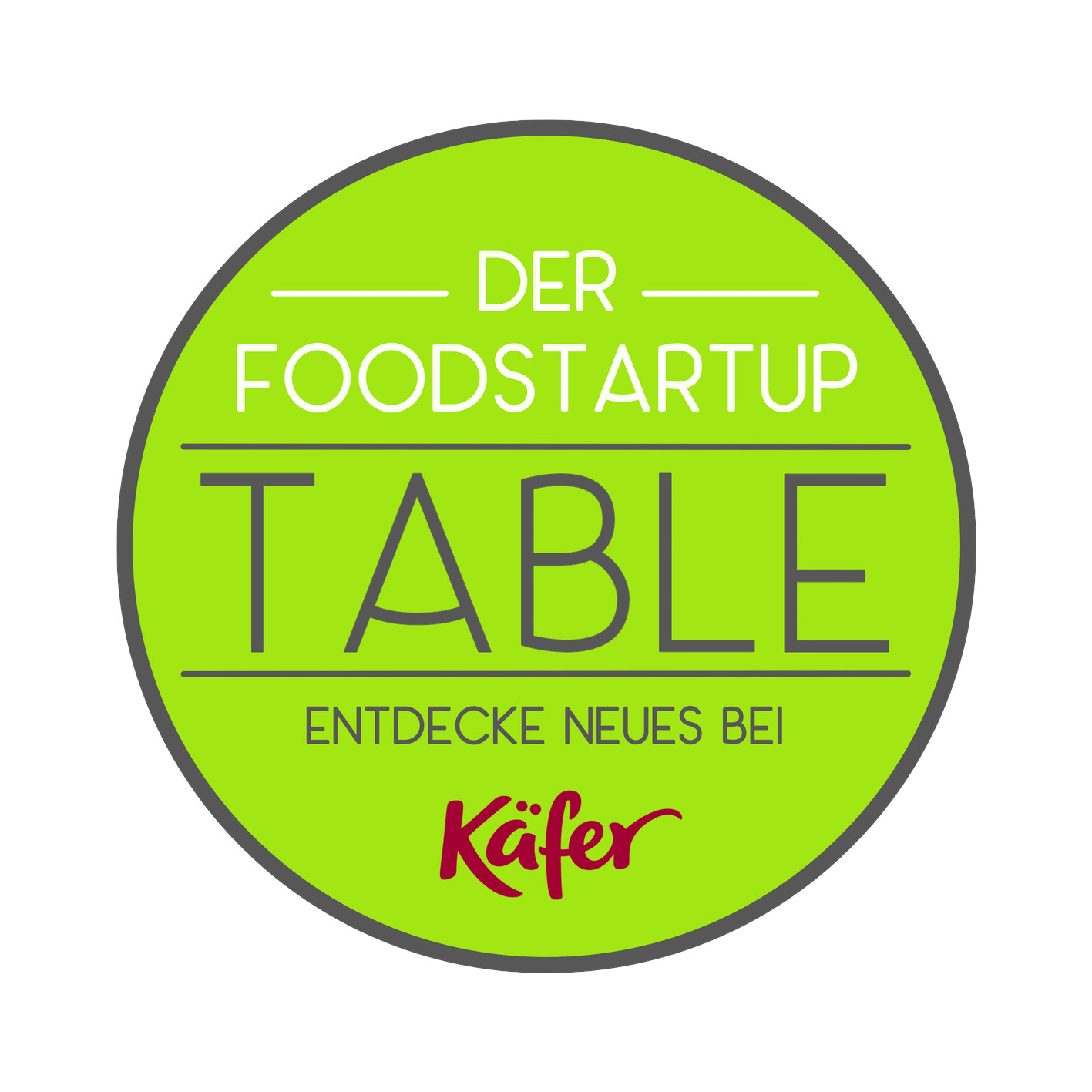 Gründer: Der Foodstartup-Table by Feinkost Käfer