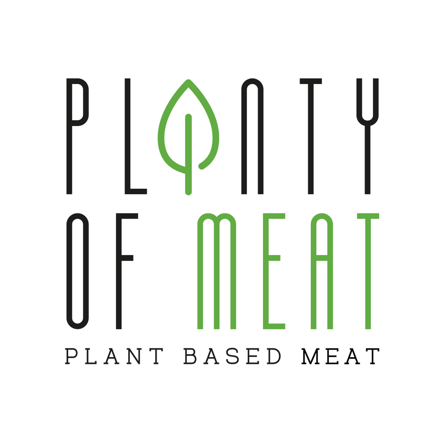 Business Development / Co-Gründer: PLANTY-OF-MEAT - plant-based burger patty logo