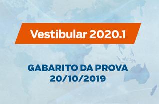 VESTIBULAR FASB - GABARITO DA PROVA