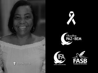 Nota de Pesar: Profª Édila Alves Ribeiro