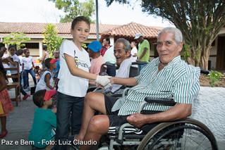 IFA e FASB promovem ação em comemoração ao Dia dos Pais no Lar dos Idosos