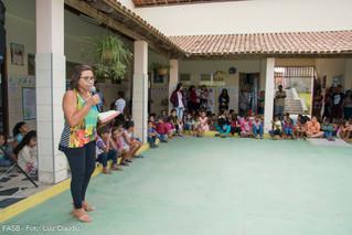 """Escola Paz e Bem realiza o """"Dia da Família na Escola"""" Com a contribuição do IFA e FASB"""