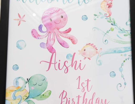 Aishi Bday Party