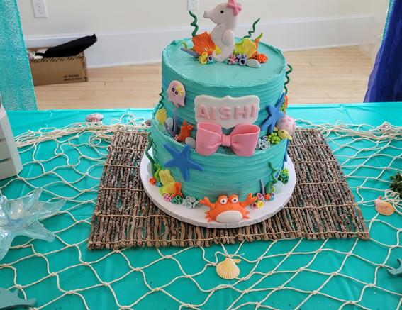 Aishi Bday Cake