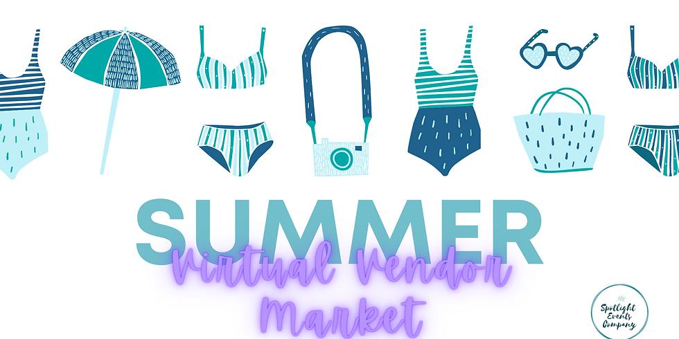Summer Virtual Vendor Market