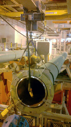 induction heating off shore Parmaprogetti