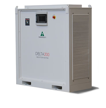 Delta350 induction heating Parmaprogetti generator
