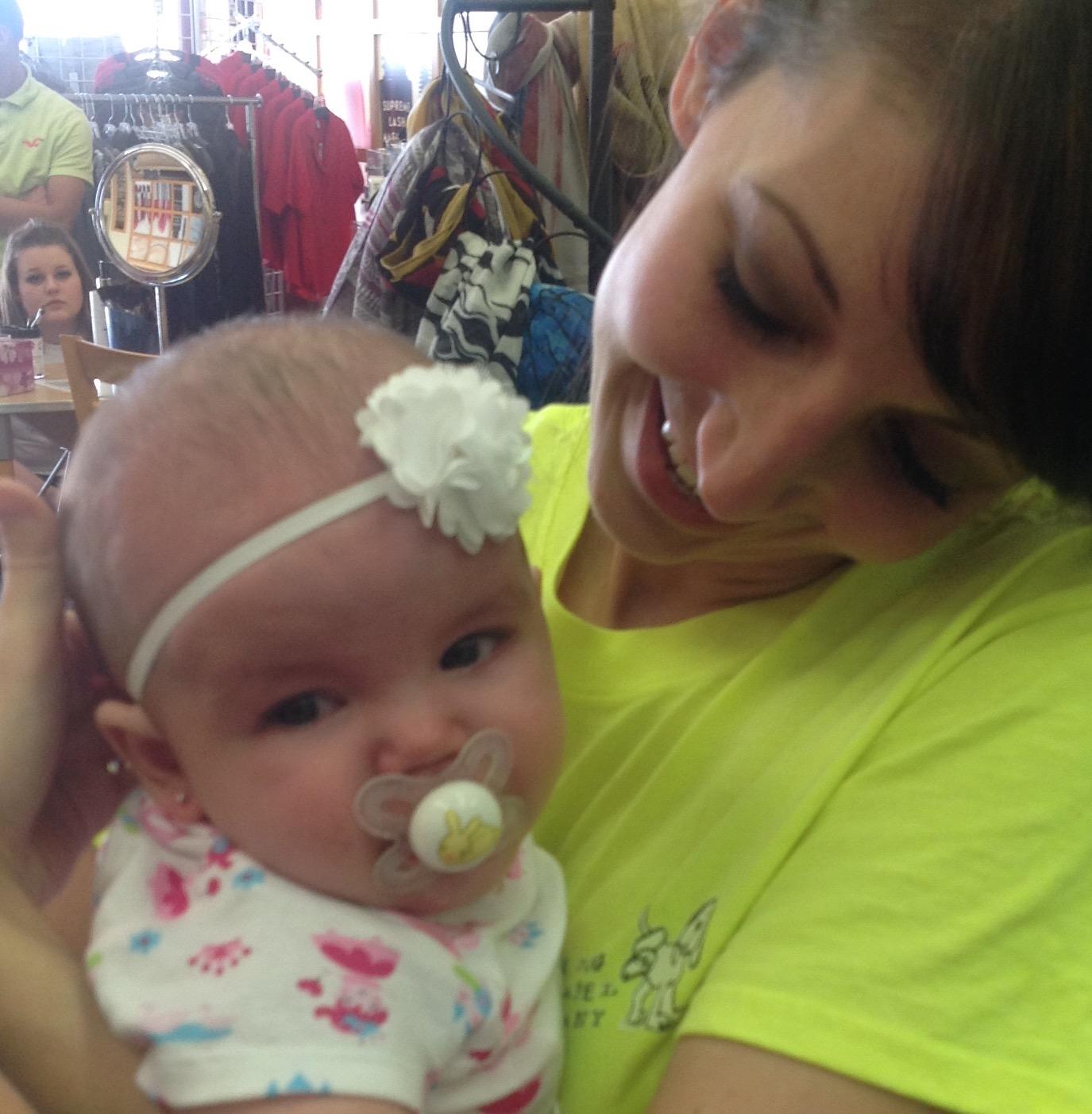 Alaina Blake Brooke's daughter March 2016