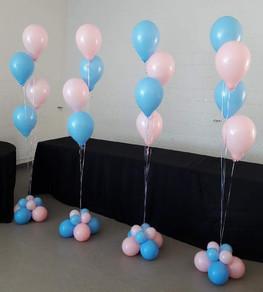 Four Balloon Floor Bouquet