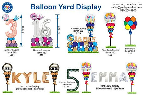 Updated balloon yard display.JPG