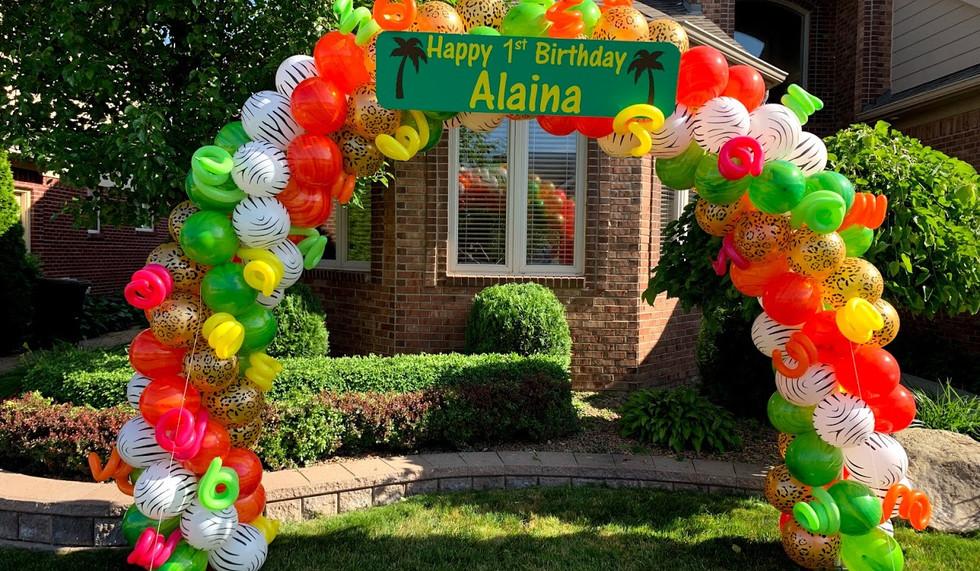 Balloon Decor Party Paradise