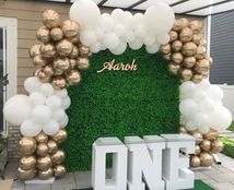 Chrome Gold and White Full Organic arch