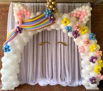 Custom Unicorn Garland Arch