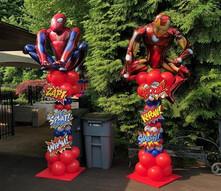 Super Hero Balloon Columns.jpg
