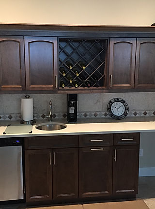 Country Kitchen Cabinets. Custom Cabinetry