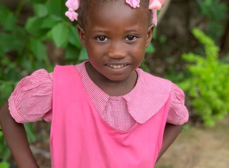 Student & Family Highlight: Kimara, the sassy girl in pink