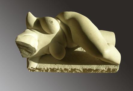 reclining nude I